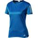 adidas Response - Camiseta Running Mujer - azul